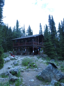 Plains of Six Glaciers Tea House